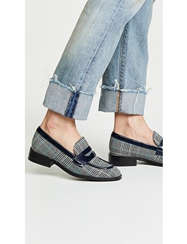 Hornsby Plaid Loafers by Jeffrey Campbell