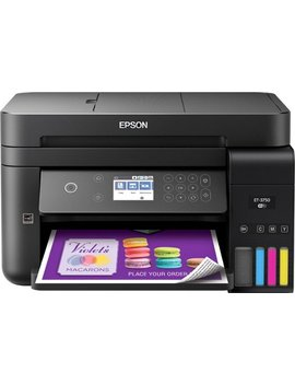 Work Force Eco Tank Et 3750 Wireless All In One Printer by Epson