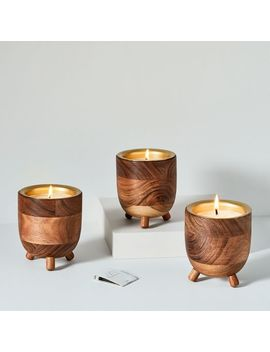 Rewined Barrel Candles by West Elm