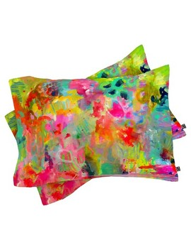 Stephanie Corfee Hot Mess Lightweight Pillowcase Standard Pink   Deny Designs® by Shop This Collection