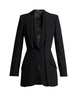 Double Layered Crepe Blazer by Alexander Mc Queen