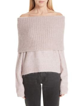 Off The Shoulder Sweater by Acne Studios