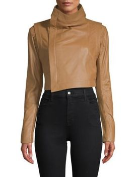 Mad Max Cropped Moto Jacket by Veda