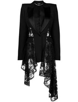 Waterfall Lace Blazer by Alexander Mc Queen