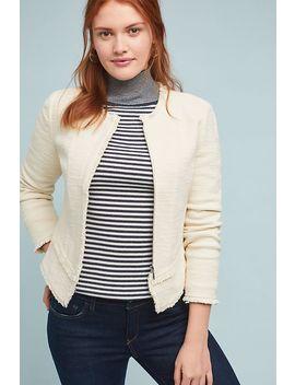 Bardot Knit Moto Jacket by Ett:Twa