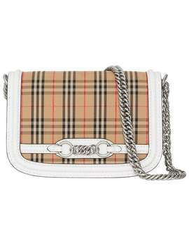 The 1983 Check Link Bag by Burberry