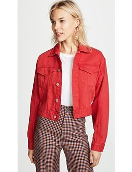 Annie Cropped Denim Jacket by Dl1961