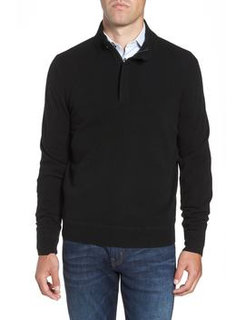 Regular Fit Quarter Zip Cashmere Sweater by Nordstrom Men's Shop