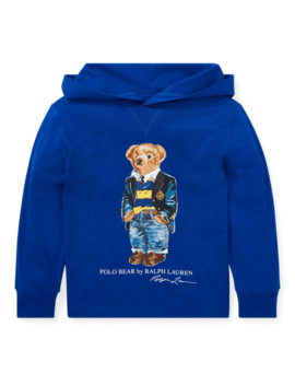 Polo Bear Hooded T Shirt by Ralph Lauren