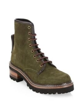 Marta Lace Up Boots by See By Chloé