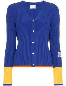 Ribbed Knit Cardigan by I Am Chen