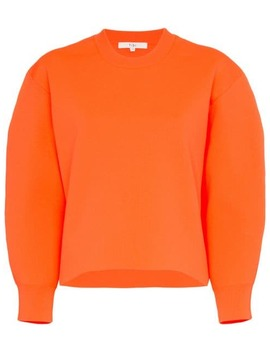 Tech Poly Sculpted Sleeve Jumper by Tibi