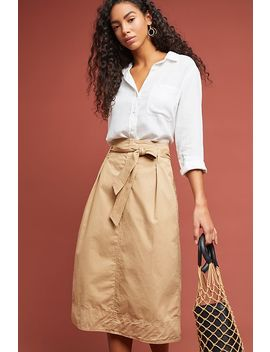 Bray Midi Skirt by Velvet By Graham & Spencer