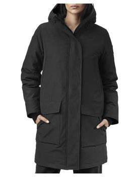 Canmore Streamline Hooded Parka Coat by Canada Goose