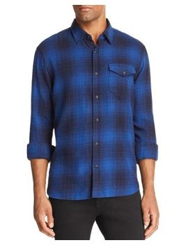 Plaid Regular Fit Button Down Shirt by Jachs Ny