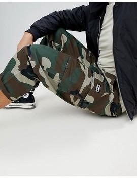 Pantalones Cargo De Corte Holgado Con Estampado De Camuflaje Fubar De Obey by Asos