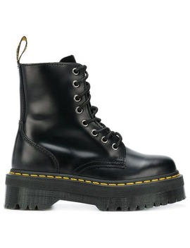 Stiefeletten Mit Plateausohle by Dr. Martens