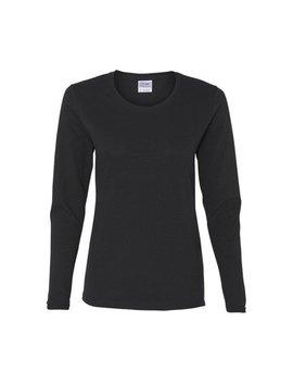 Gildan   Heavy Cotton Women's Long Sleeve T Shirt   5400 L by Gildan