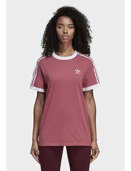 3 Streifen   T Shirt Print by Adidas Originals