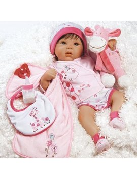 Paradise Galleries Reborn Baby Doll Girl, Tall Dreams Gift Set Ensemble, 19 Inch Realistc & Lifelike Baby, For Ages 3+ by My Sweet Love