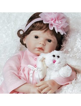 Paradise Galleries Reborn Baby Doll That Looks Real Bunny Love   In Flex Touch Silicone Vinyl, 21 Inch Girl, 6 Piece Set by Paradise Galleries