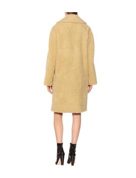 Wool Blend Teddy Coat by Burberry