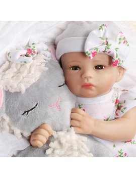 Paradise Galleries Preemie Tiny Reborn Baby Doll 12 Inch   Bitsy Baby Little Lamb, Full Vinyl Arms & Legs, 4 Piece Gift Set, Safety Tested For 3+ by Paradise Galleries