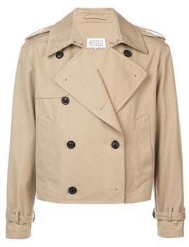 Double Breasted Cropped Jacket by Maison Margiela