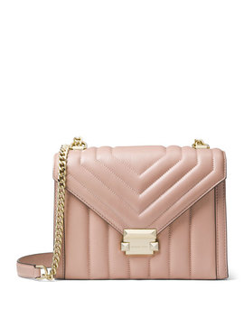 Whitney Large Shoulder Bag, Fawn by Michael Michael Kors