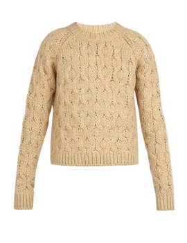 Cable Knit Sweater by Acne Studios