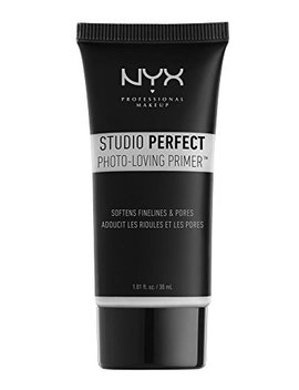 Nyx Studio Perfect Primer, Clear, 1.0 Oz/30ml by Nyx Professional Makeup