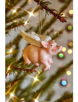 Flying Pig Ornament by Urban Outfitters