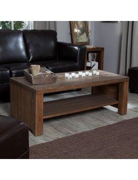 Belham Living Brinfield Rustic Solid Wood Coffee Table by Belham Living