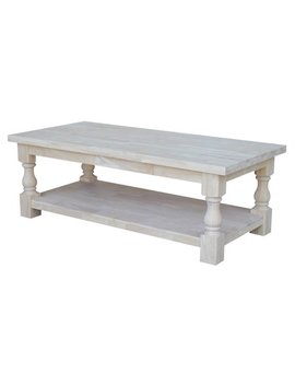 International Concepts Tuscan Coffe Table by Inc International Concepts