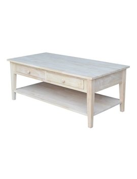 International Concepts Ot 8 C Spencer Coffee Table, Ready To Finish by Inc International Concepts