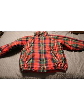 Preston And York Plaid Reversible Coat Size Xs by Preston & York