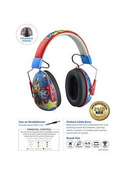Paw Patrol Kids Ear Protectors Earmuffs Headphones 2 In 1 Noise Reduction Headphones Kids Ultra Lightweight (Paw Patrol) by E Kids
