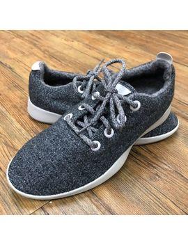 Allbirds Womens Wool Runners Gray Walking Shoes Size 8 by Allbirds