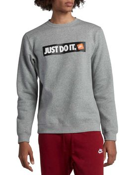 Nike Men's Sportswear Just Do It Fleece Pullover by Nike