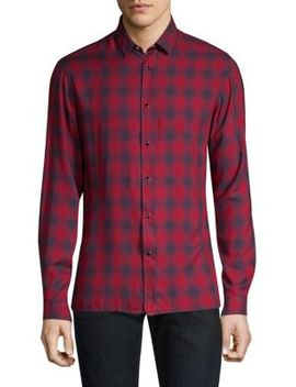 Plaid Button Down Shirt by The Kooples