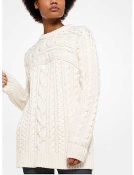 Cable Knit Pullover by Michael Michael Kors