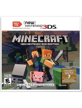 Minecraft New Nintendo 3 Ds Editions, Nintendo, Nintendo 3 Ds, 045496904517 by Nintendo