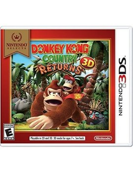 Nintendo Selects: Donkey Kong Country Returns 3 D, Nintendo, Nintendo 3 Ds, 045496743802 by Nintendo