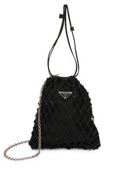 Silk Net Bag by Prada