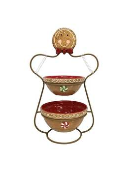 St. Nicholas Square® Tiered Gingerbread Server by St. Nicholas Square