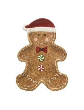 St. Nicholas Square® Gingerbread Serving Platter by St. Nicholas Square