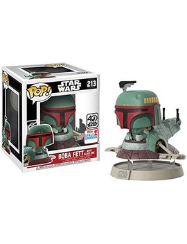 Boba Fett With Slave One Pop 213 Star Wars Nycc 2017 Fall Exclusive by Funko
