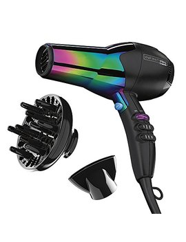 Infinitipro By Conair 1875 Watt Ion Choice Hair Dryer, Rainbow Finish by Conair