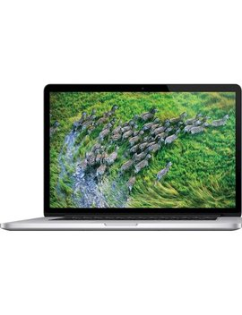 """Mac Book Pro 15.4"""" Refurbished Laptop   Intel Core I7   8 Gb Memory   256 Gb Solid State Drive   Silver by Apple"""