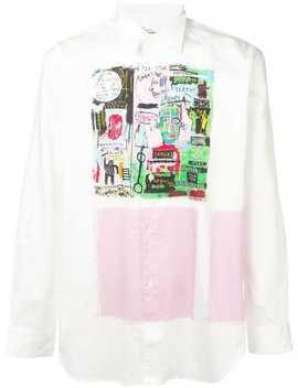 Graffiti Print Shirt by Comme Des Garçons Shirt